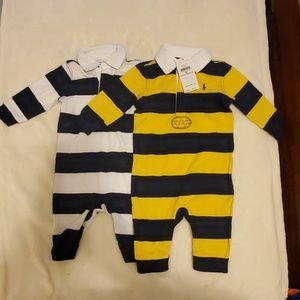 Ralph Lauren Baby Boy One Piece Outfits